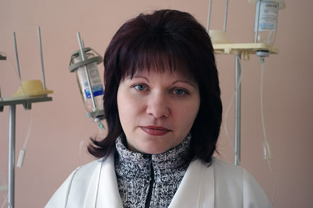 Woman doctor that help the Chernobyl victims